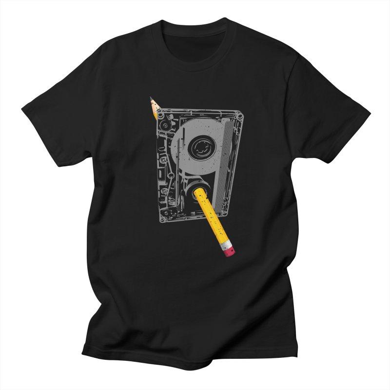 Rewind Men's Regular T-Shirt by clingcling's Artist Shop
