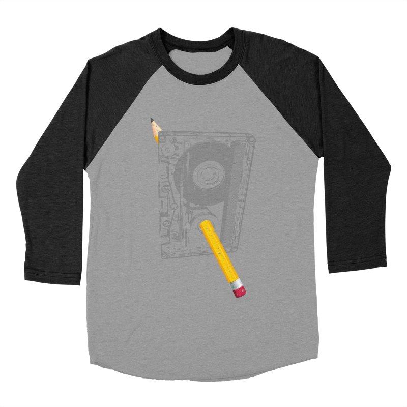 Rewind Men's Baseball Triblend Longsleeve T-Shirt by clingcling's Artist Shop