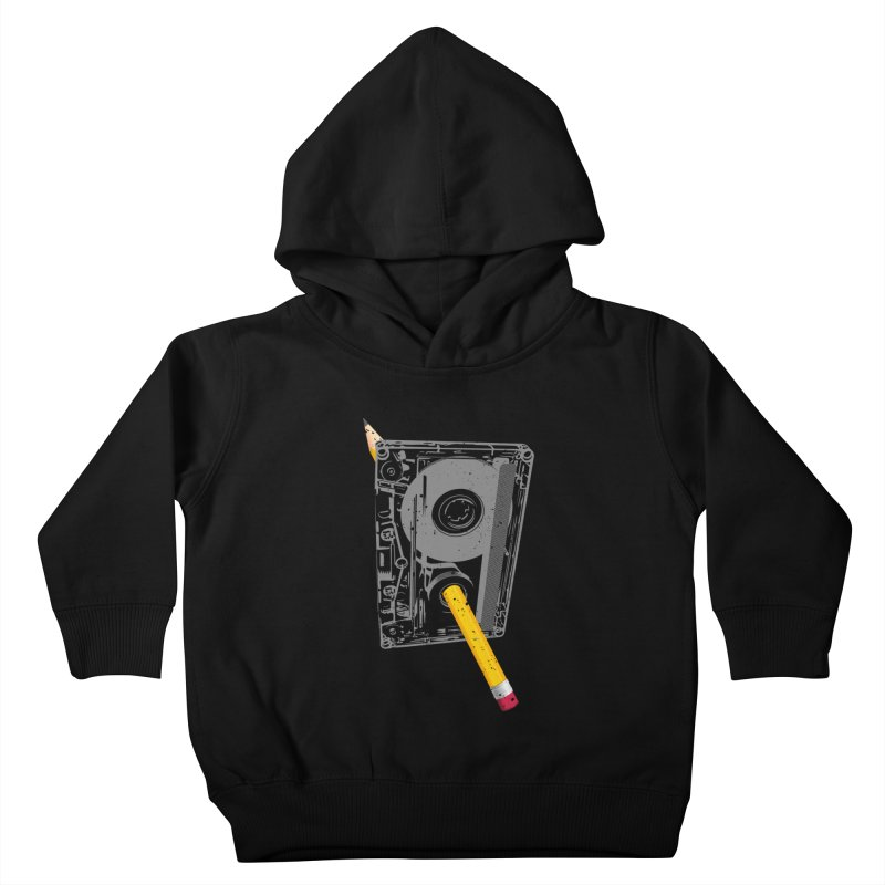 Rewind Kids Toddler Pullover Hoody by clingcling's artist shop
