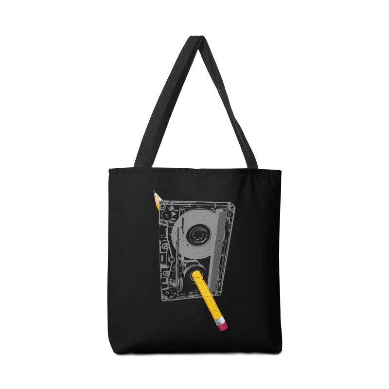 Rewind Accessories Tote Bag Bag by clingcling's Artist Shop