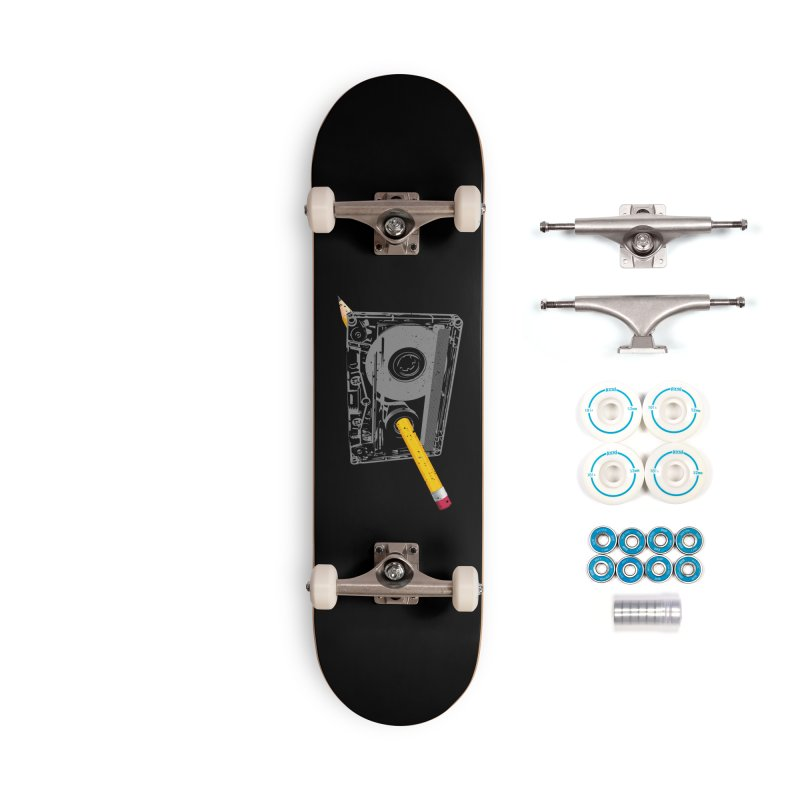 Rewind Accessories Complete - Basic Skateboard by clingcling's Artist Shop