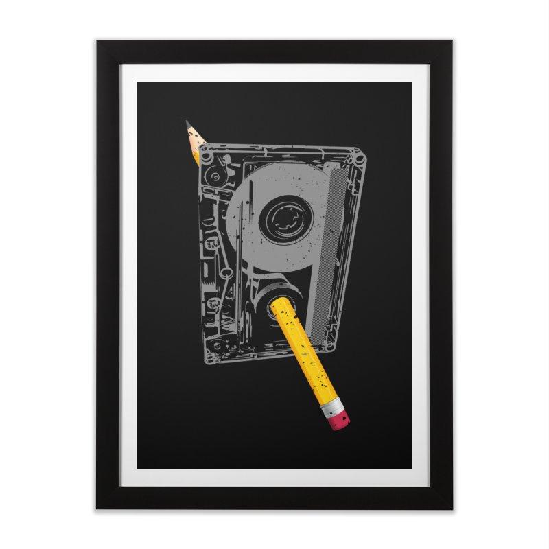 Rewind Home Framed Fine Art Print by clingcling's Artist Shop