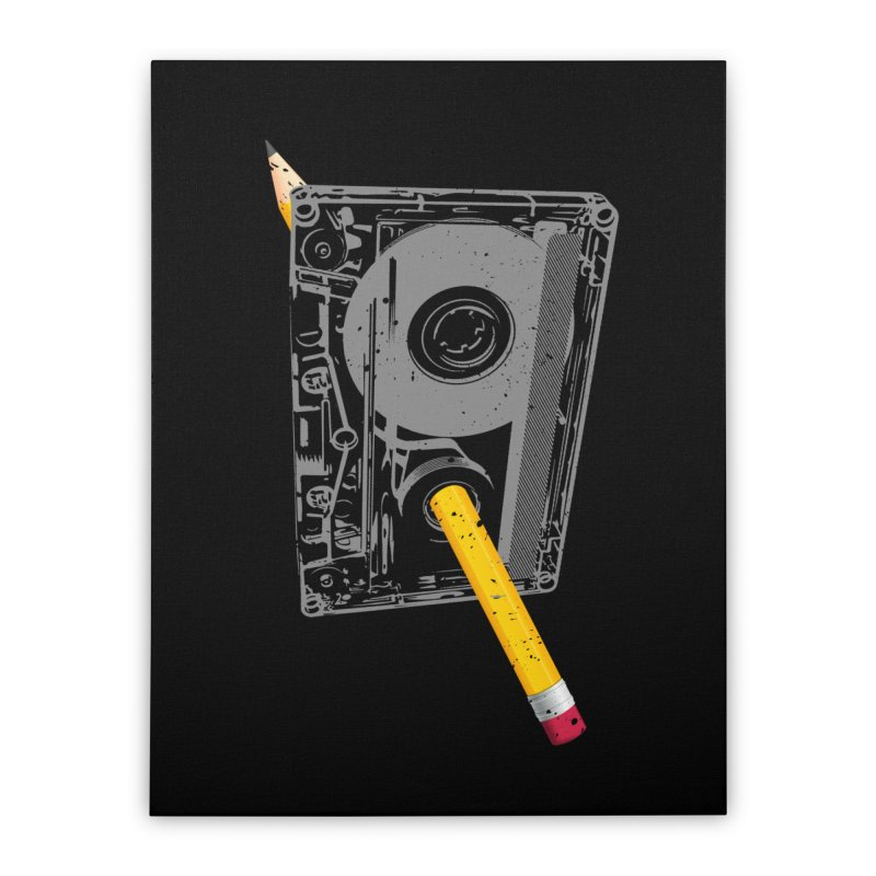 Rewind Home Stretched Canvas by clingcling's Artist Shop