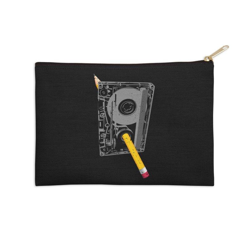 Rewind Accessories Zip Pouch by clingcling's Artist Shop