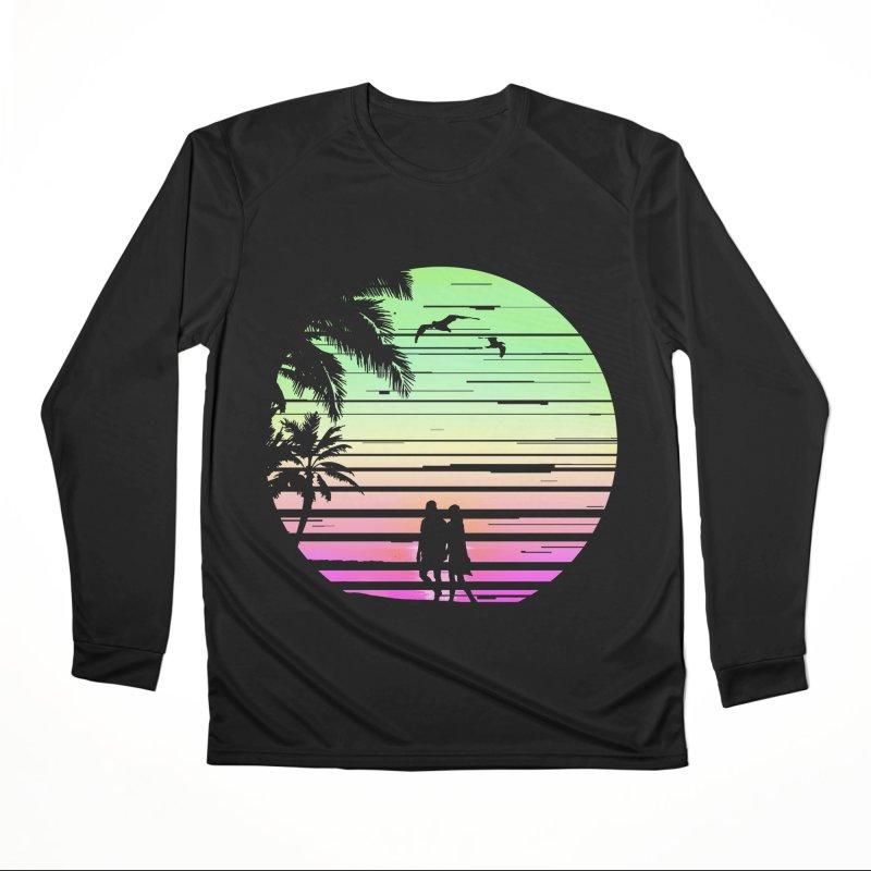 Summer with love Men's Performance Longsleeve T-Shirt by clingcling's Artist Shop