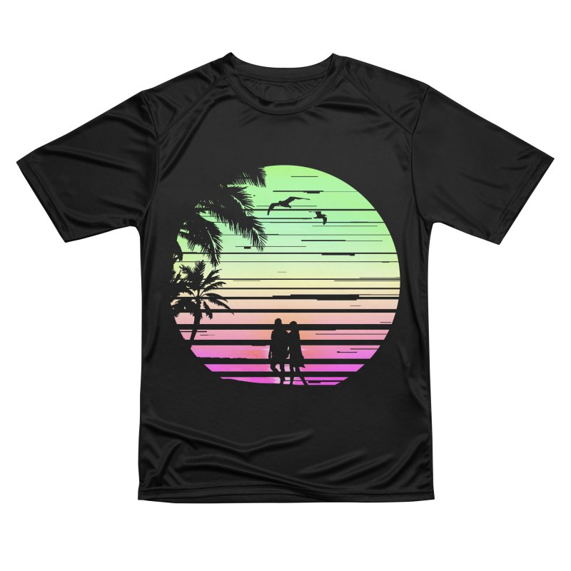 Summer with love Women's Performance Unisex T-Shirt by clingcling's Artist Shop
