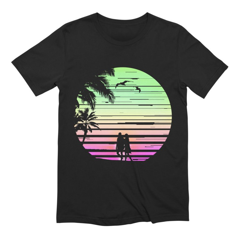 Summer with love Men's Extra Soft T-Shirt by clingcling's Artist Shop