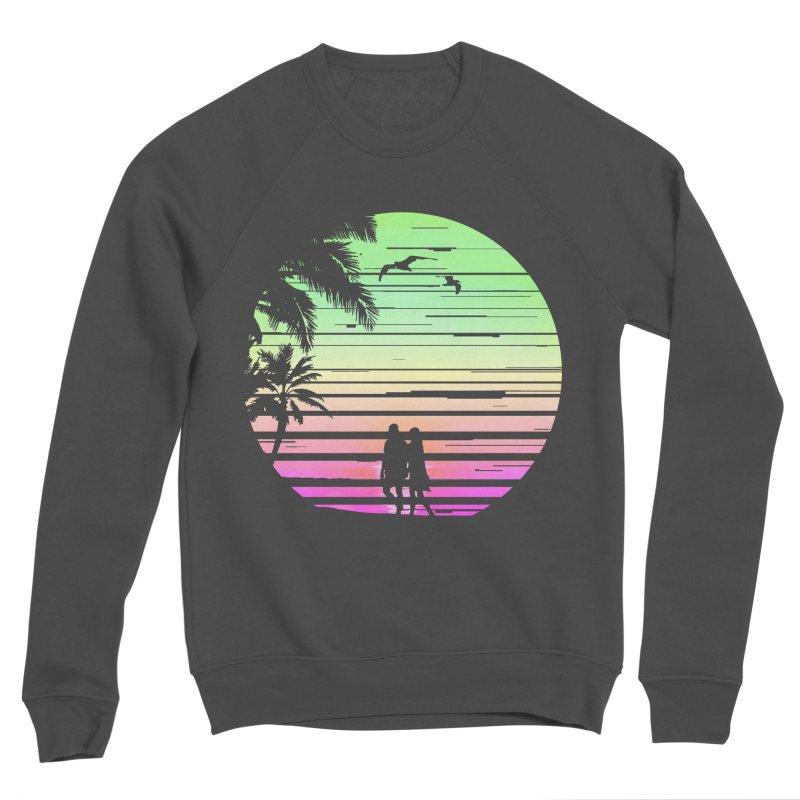 Summer with love Men's Sponge Fleece Sweatshirt by clingcling's Artist Shop