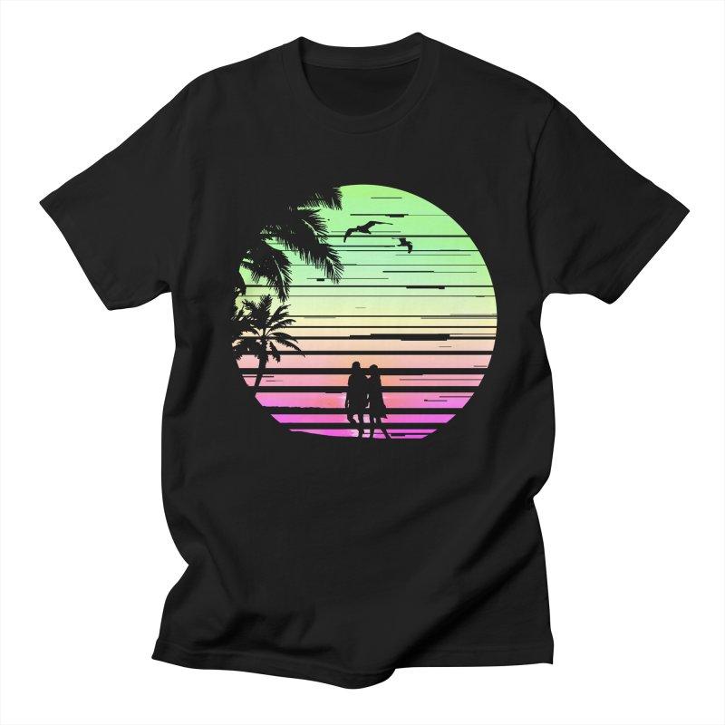 Summer with love Men's Regular T-Shirt by clingcling's Artist Shop