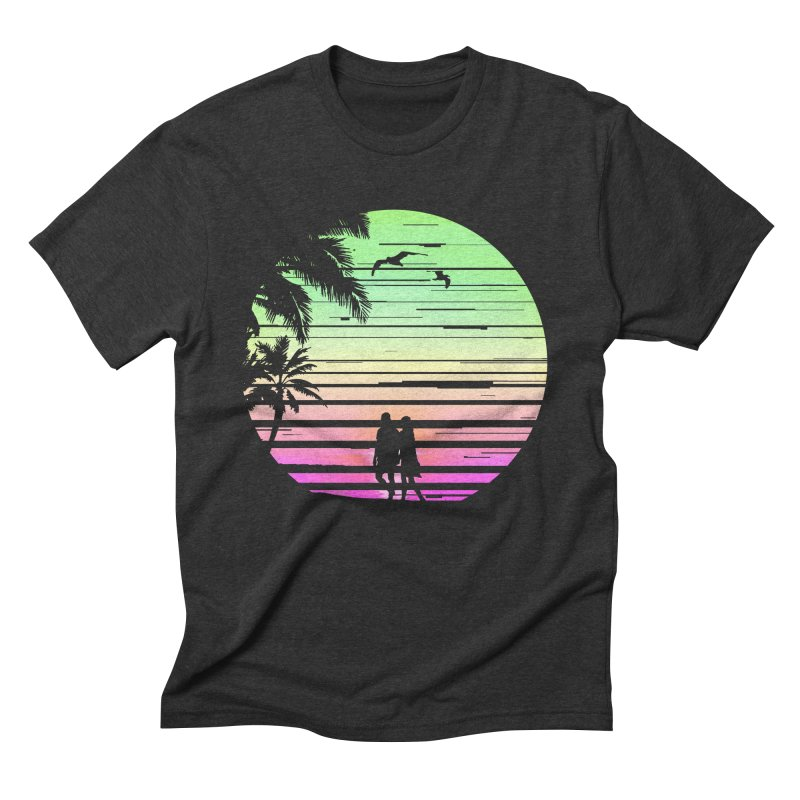 Summer with love Men's Triblend T-Shirt by clingcling's Artist Shop