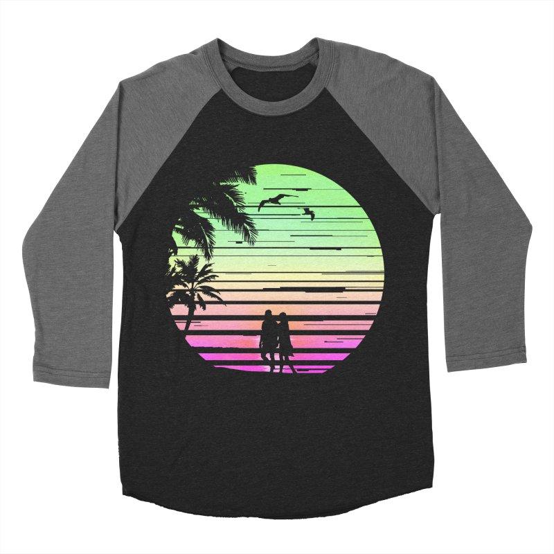 Summer with love Men's Baseball Triblend Longsleeve T-Shirt by clingcling's Artist Shop