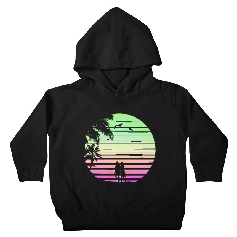 Summer with love Kids Toddler Pullover Hoody by clingcling's artist shop