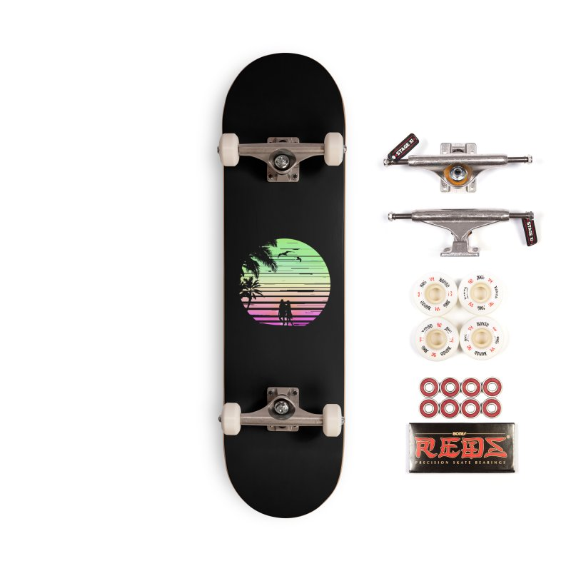 Summer with love Accessories Complete - Pro Skateboard by clingcling's Artist Shop