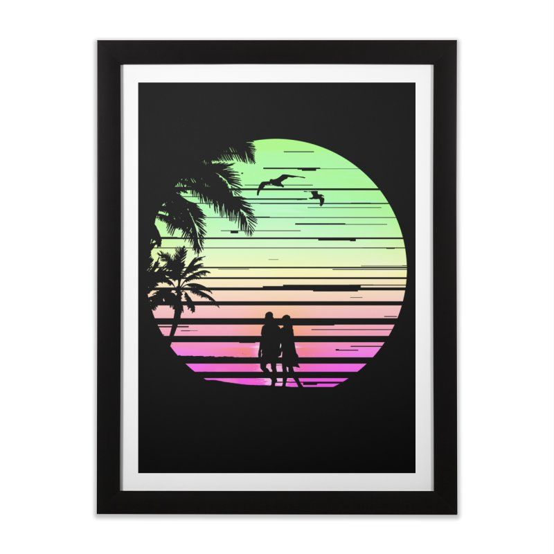 Summer with love Home Framed Fine Art Print by clingcling's Artist Shop