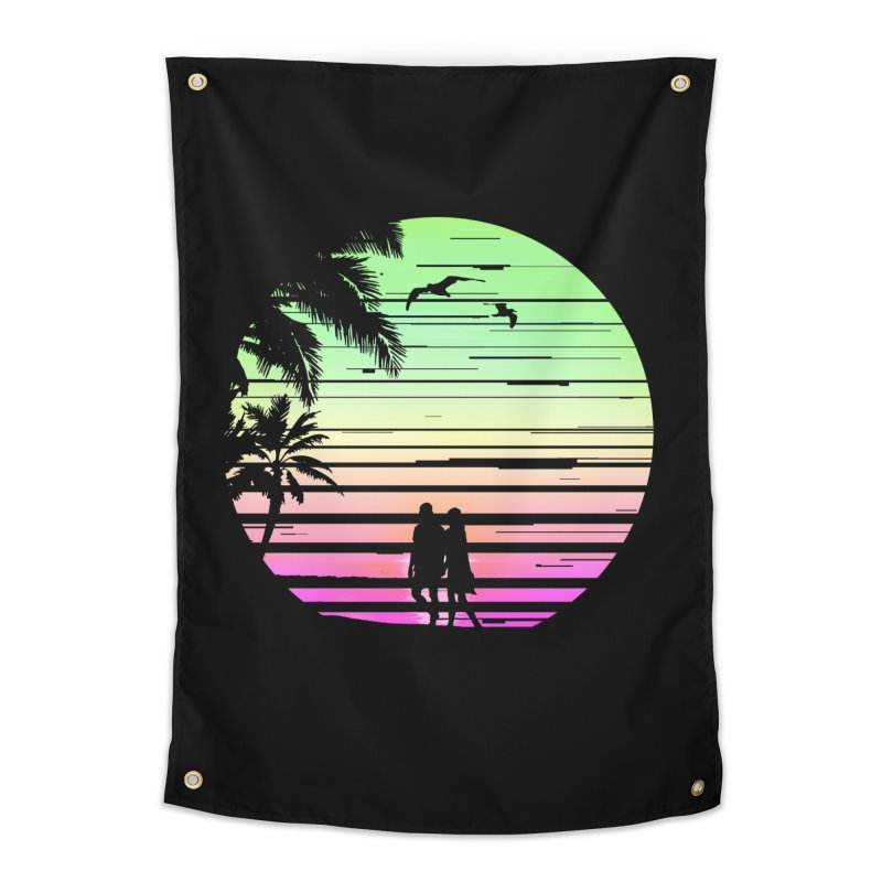 Summer with love Home Tapestry by clingcling's Artist Shop