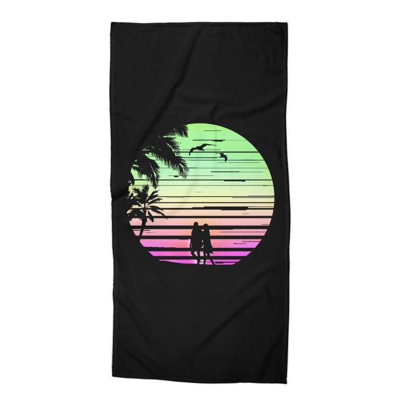 Summer with love Accessories Beach Towel by clingcling's Artist Shop