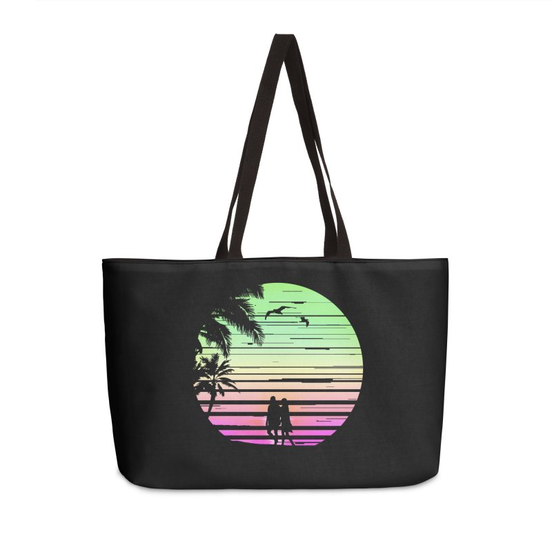 Summer with love Accessories Weekender Bag Bag by clingcling's Artist Shop