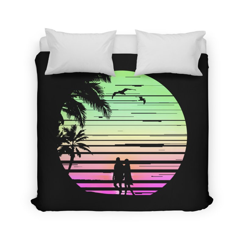 Summer with love Home Duvet by clingcling's Artist Shop