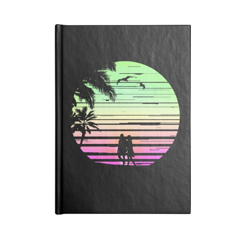 Summer with love Accessories Lined Journal Notebook by clingcling's Artist Shop