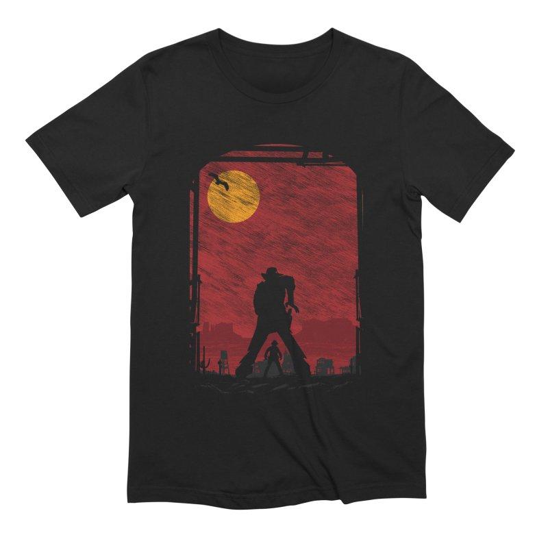 The Duel Men's Extra Soft T-Shirt by clingcling's Artist Shop