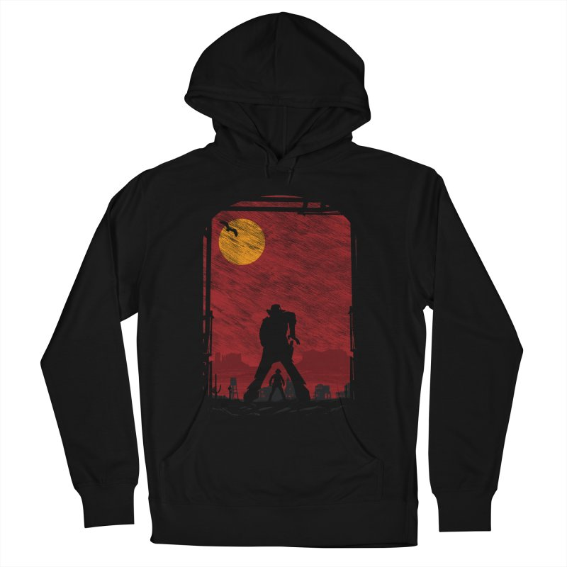 The Duel Women's French Terry Pullover Hoody by clingcling's Artist Shop