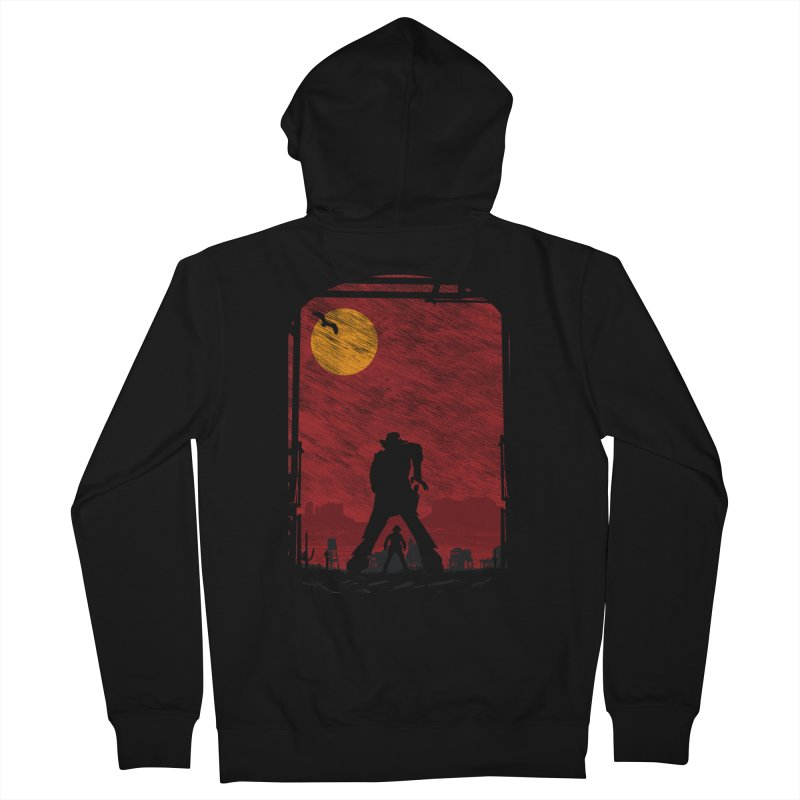 The Duel Men's French Terry Zip-Up Hoody by clingcling's Artist Shop