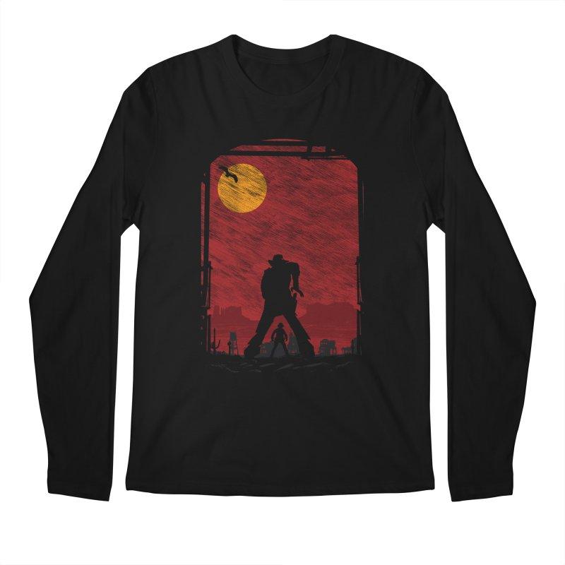 The Duel Men's Regular Longsleeve T-Shirt by clingcling's Artist Shop