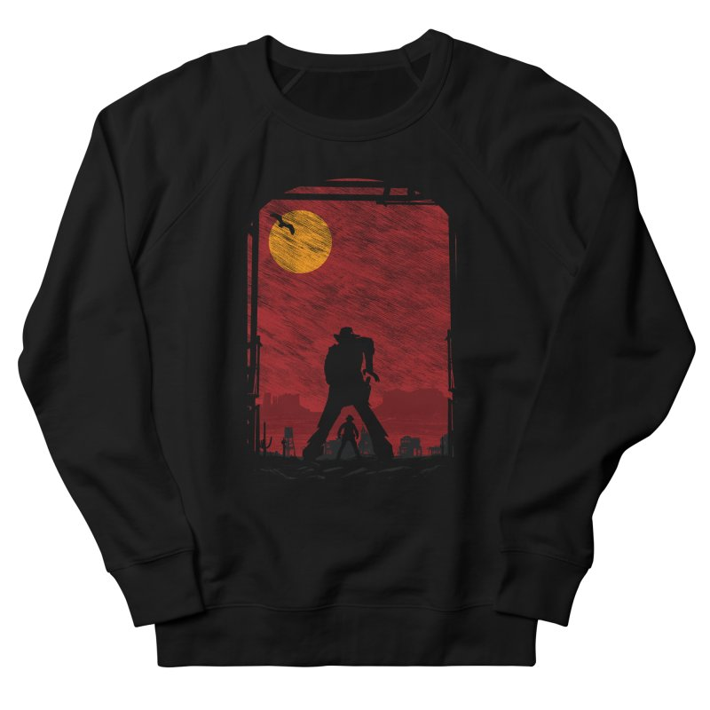 The Duel Women's French Terry Sweatshirt by clingcling's Artist Shop