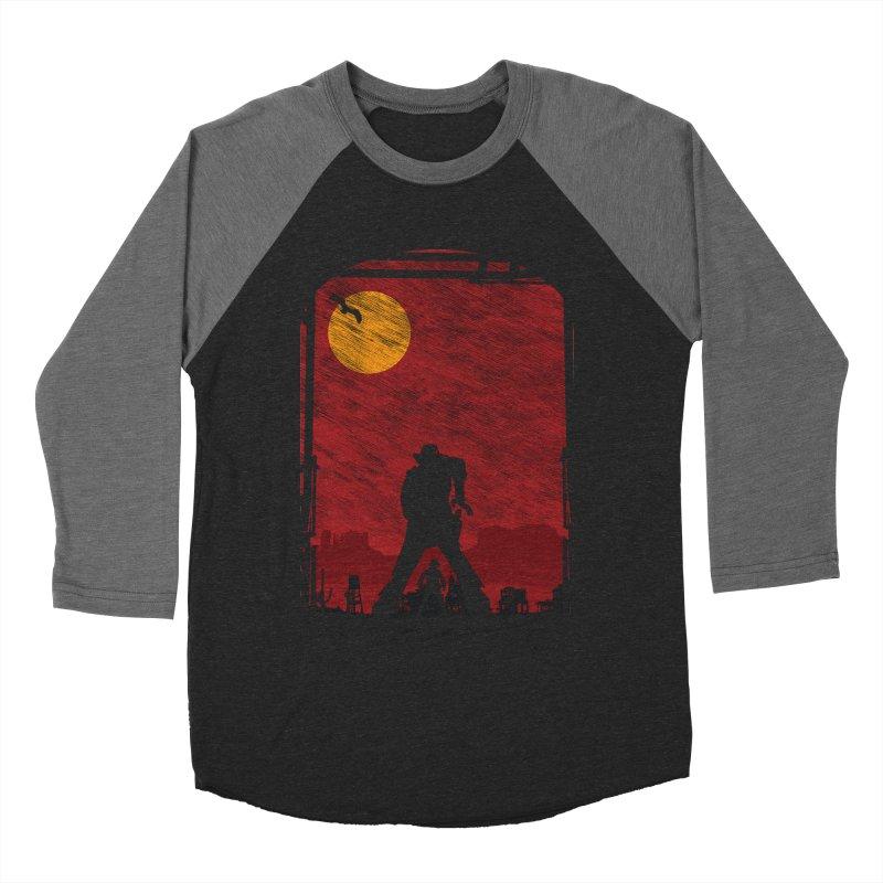 The Duel Men's Baseball Triblend Longsleeve T-Shirt by clingcling's Artist Shop