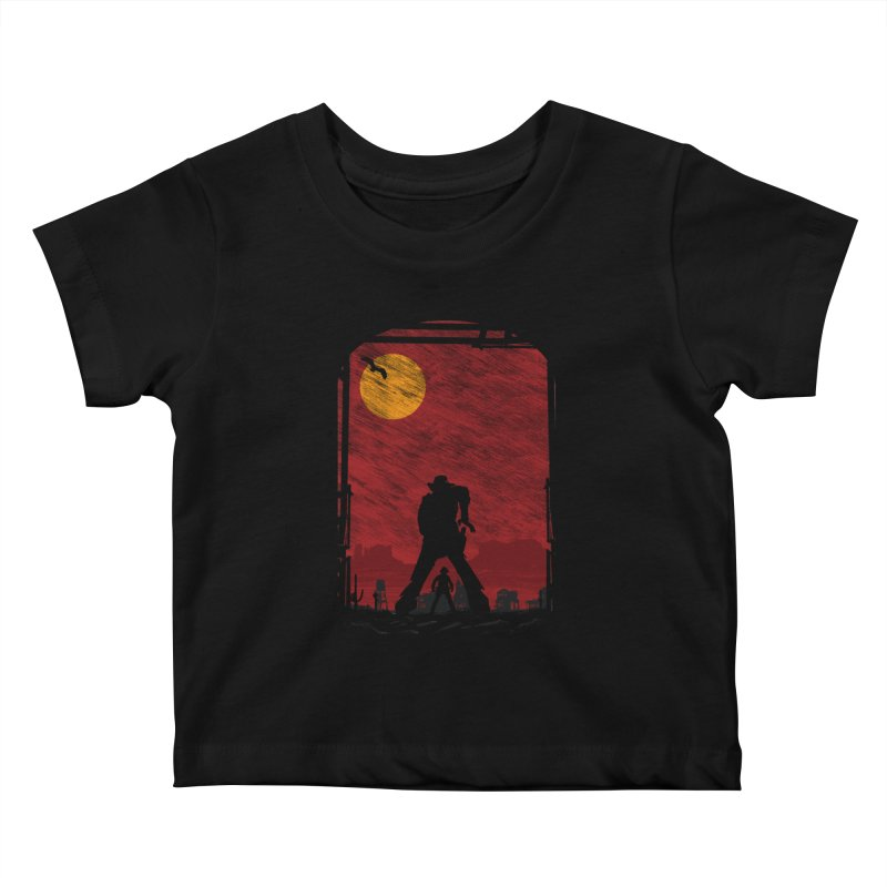 The Duel Kids Baby T-Shirt by clingcling's Artist Shop