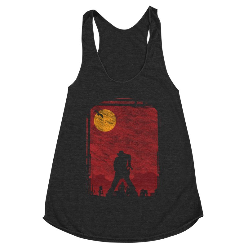 The Duel Women's Racerback Triblend Tank by clingcling's Artist Shop