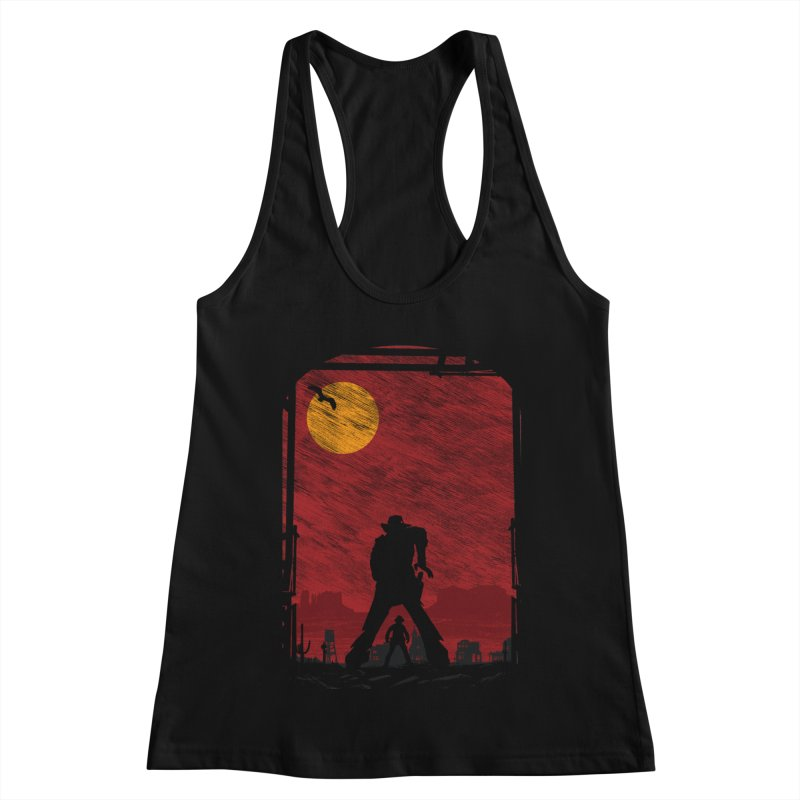 The Duel Women's Racerback Tank by clingcling's Artist Shop