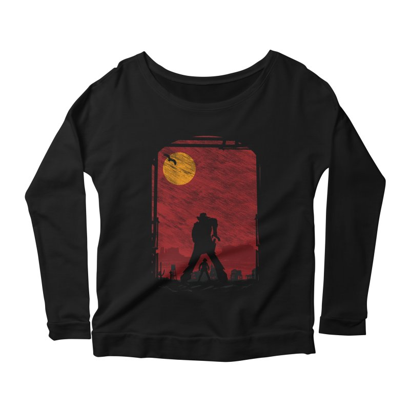 The Duel Women's Scoop Neck Longsleeve T-Shirt by clingcling's Artist Shop