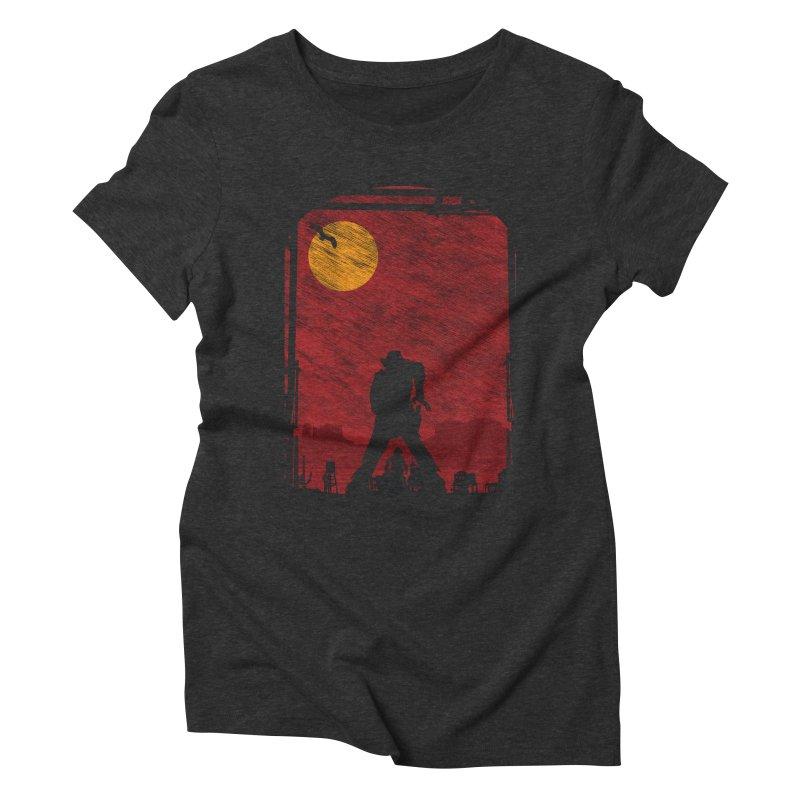 The Duel Women's Triblend T-Shirt by clingcling's Artist Shop