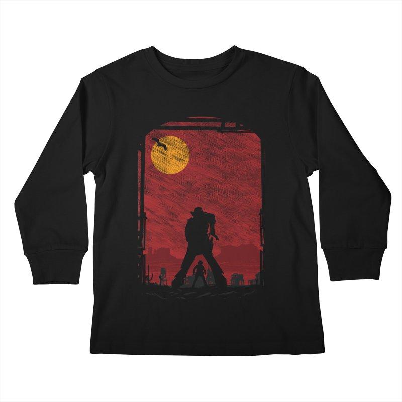The Duel Kids Longsleeve T-Shirt by clingcling's Artist Shop