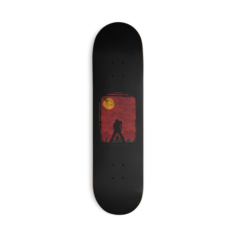 The Duel Accessories Deck Only Skateboard by clingcling's Artist Shop