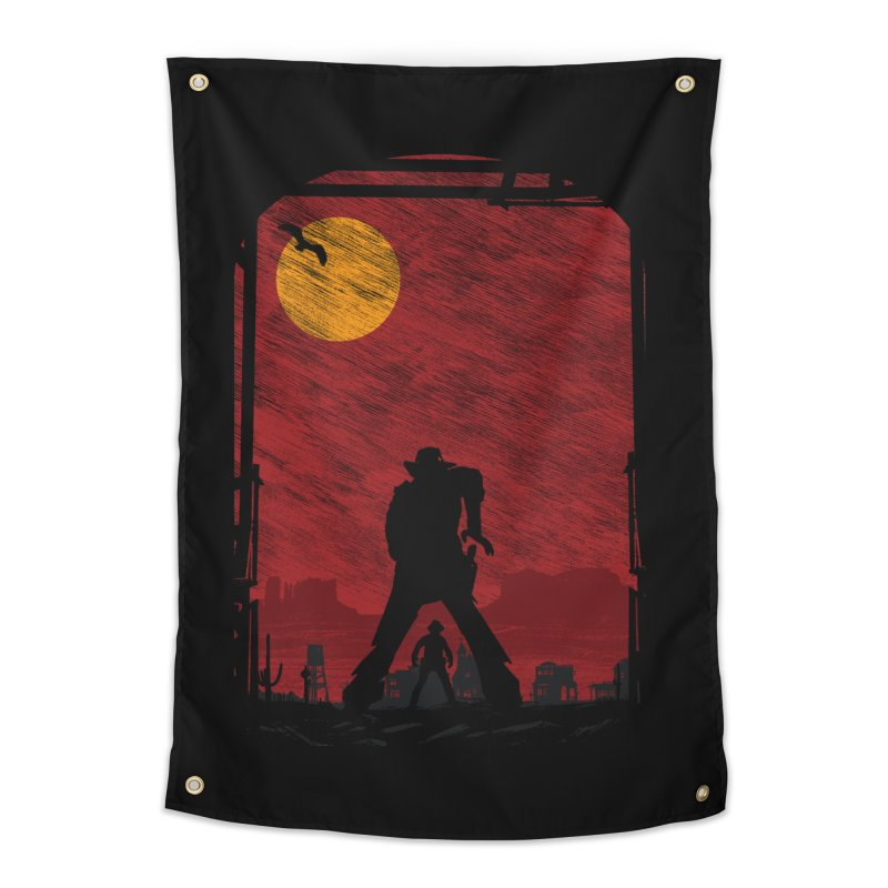 The Duel Home Tapestry by clingcling's Artist Shop
