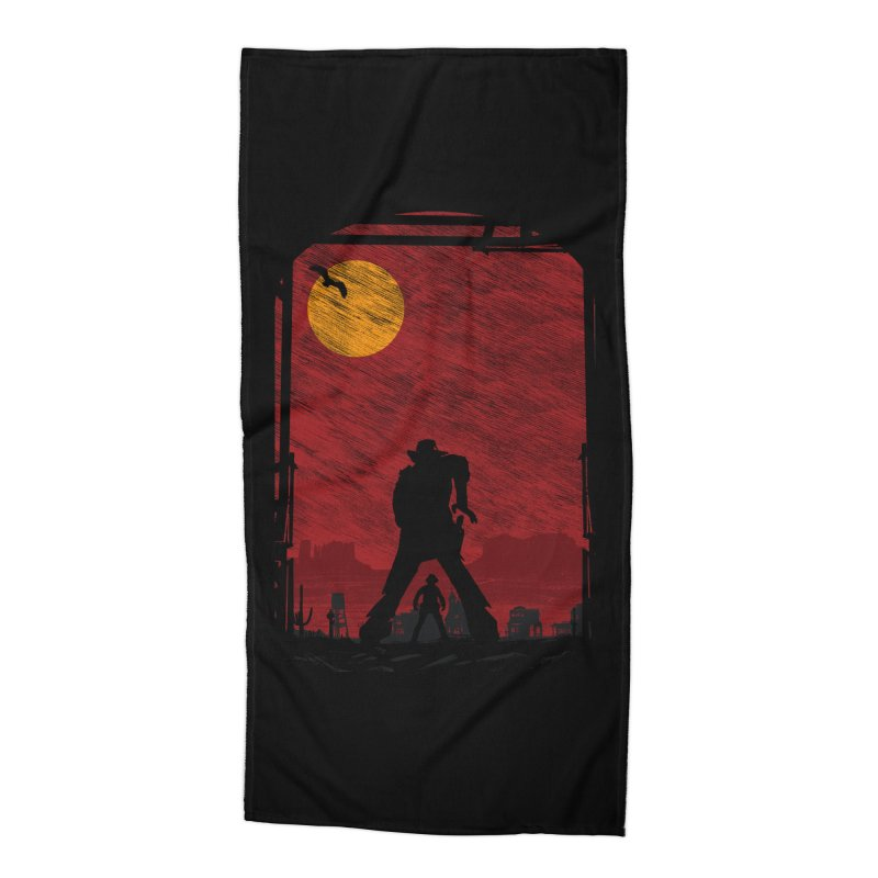 The Duel Accessories Beach Towel by clingcling's Artist Shop