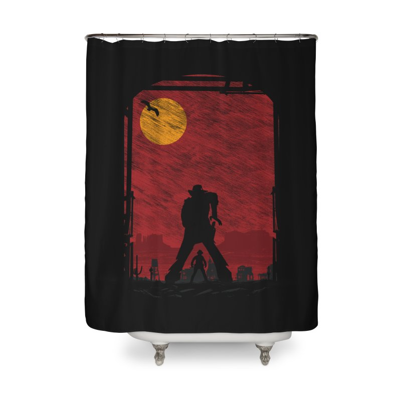 The Duel Home Shower Curtain by clingcling's Artist Shop