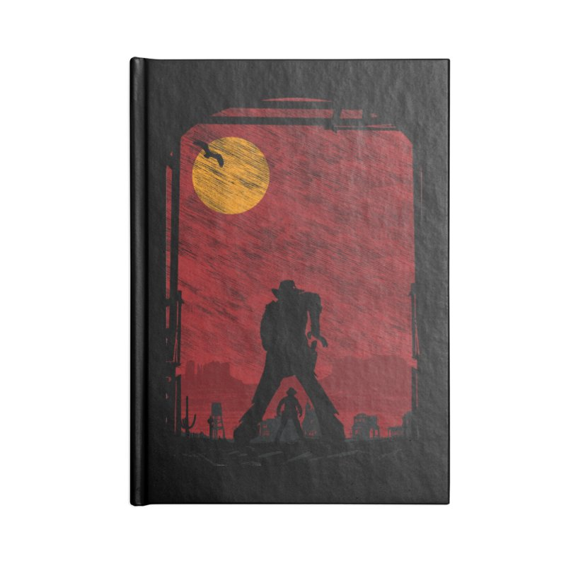 The Duel Accessories Lined Journal Notebook by clingcling's Artist Shop