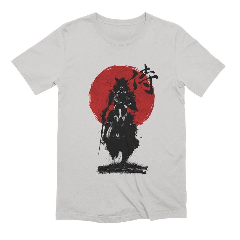 The Samurai Men's Extra Soft T-Shirt by clingcling's Artist Shop