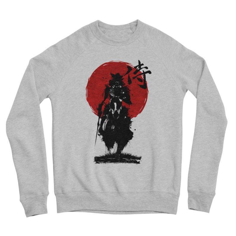 The Samurai Men's Sponge Fleece Sweatshirt by clingcling's Artist Shop