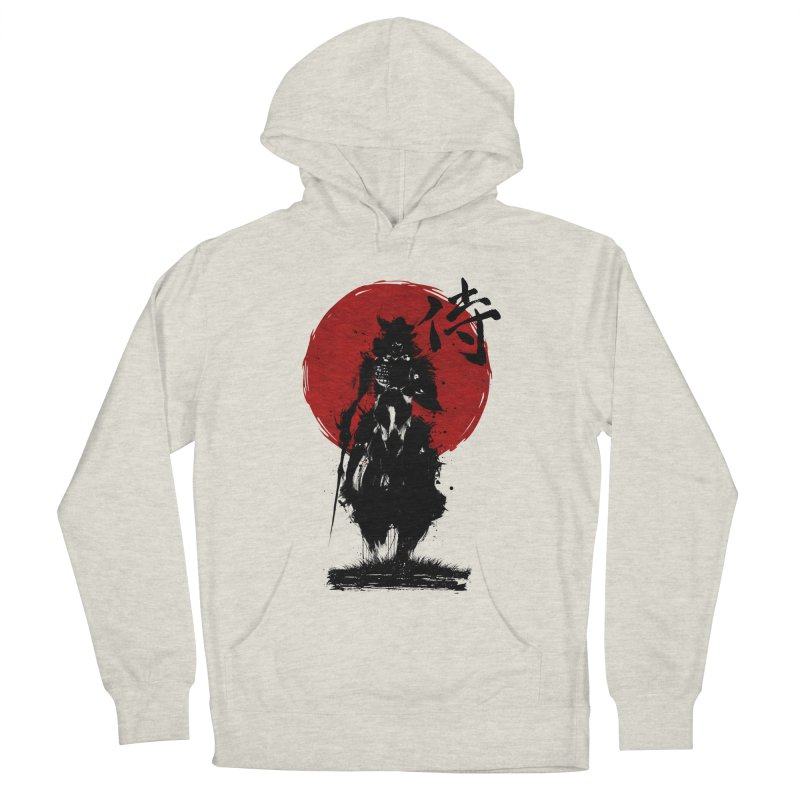 The Samurai Women's French Terry Pullover Hoody by clingcling's Artist Shop