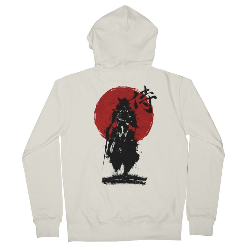 The Samurai Men's French Terry Zip-Up Hoody by clingcling's Artist Shop
