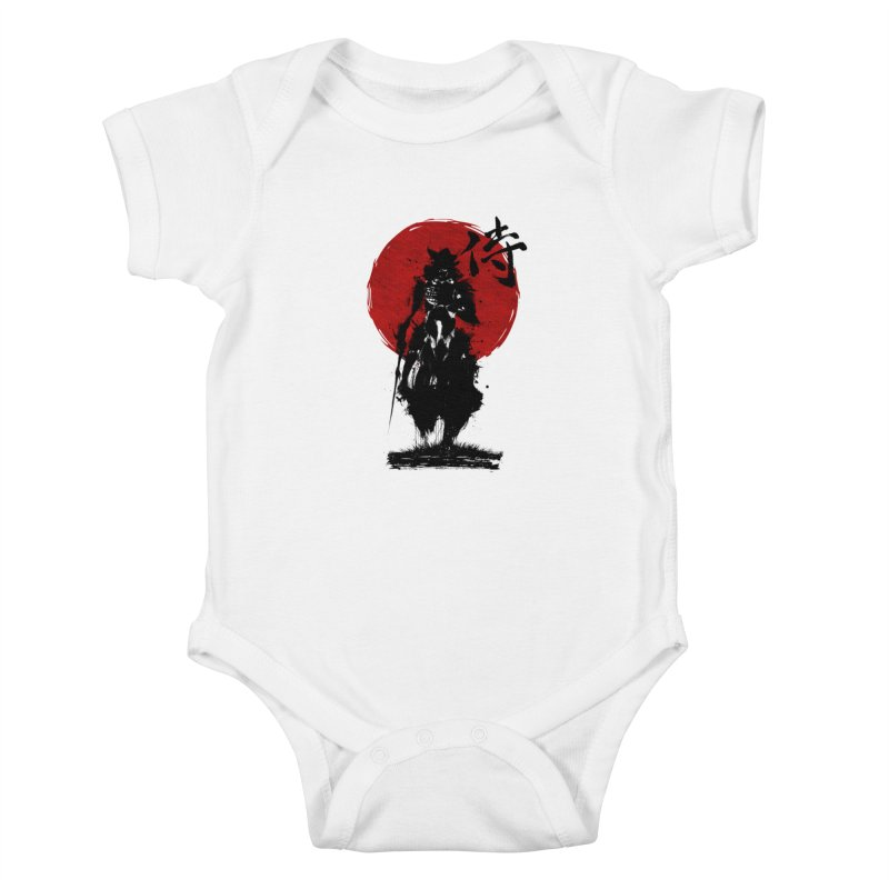 The Samurai Kids Baby Bodysuit by clingcling's Artist Shop