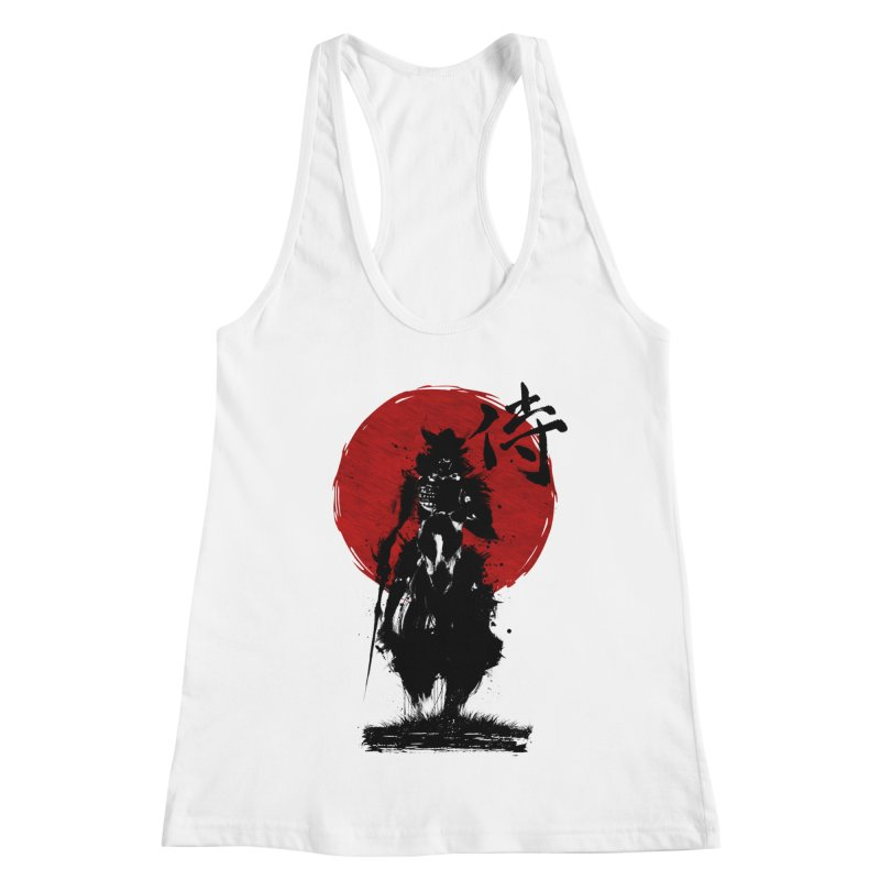 The Samurai Women's Racerback Tank by clingcling's Artist Shop