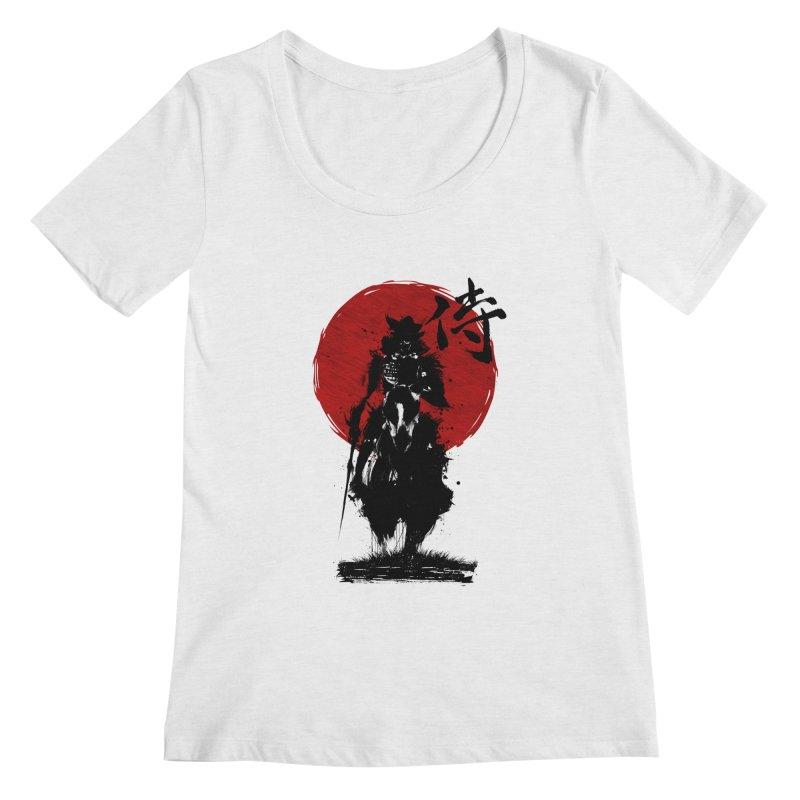 The Samurai Women's Regular Scoop Neck by clingcling's Artist Shop
