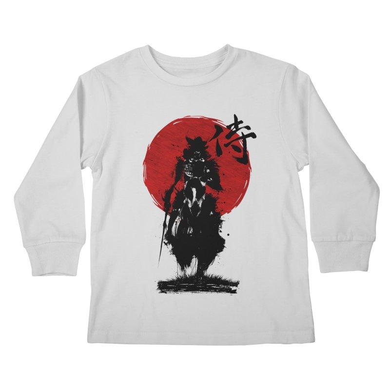 The Samurai Kids Longsleeve T-Shirt by clingcling's Artist Shop