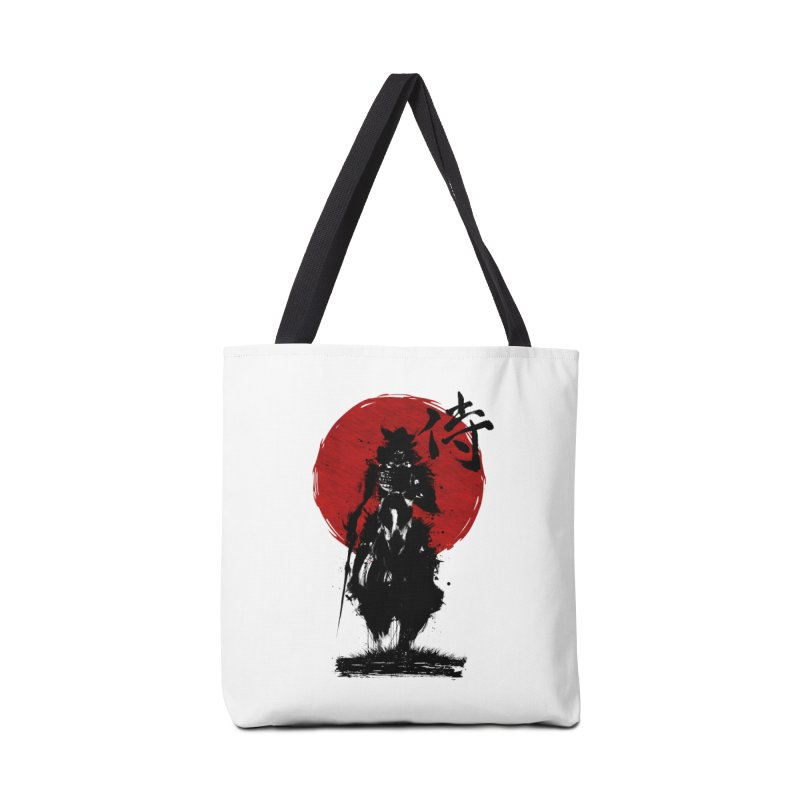 The Samurai Accessories Tote Bag Bag by clingcling's Artist Shop