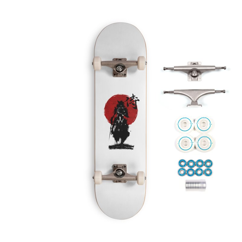 The Samurai Accessories Complete - Basic Skateboard by clingcling's Artist Shop